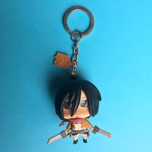 Accessories - ATTACK ON TITAN Mikasa Ackerman keychain